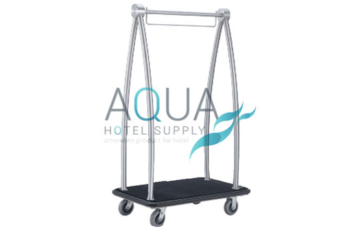 luxury luggage trolley